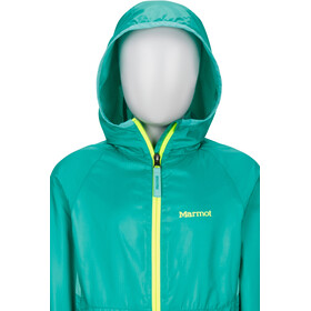 Marmot Ether Hoody Jacket Jenter turf green/celtic